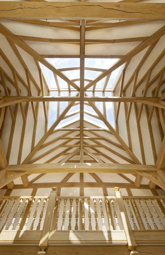 Oak Framed Roof