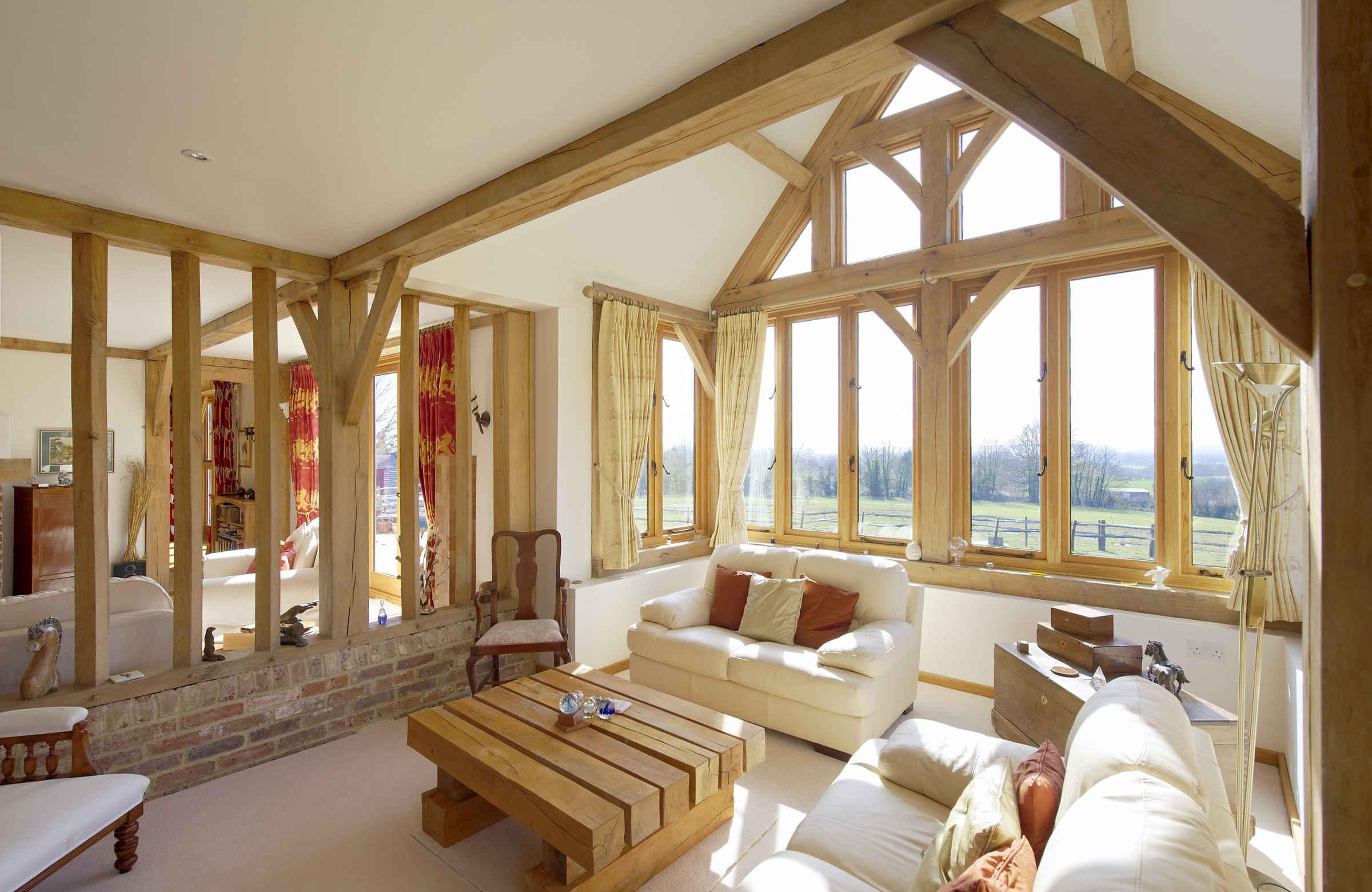 Fantastic oak framed house: Barnhill House