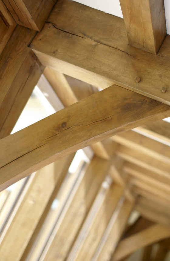 Oak Beams - Detail