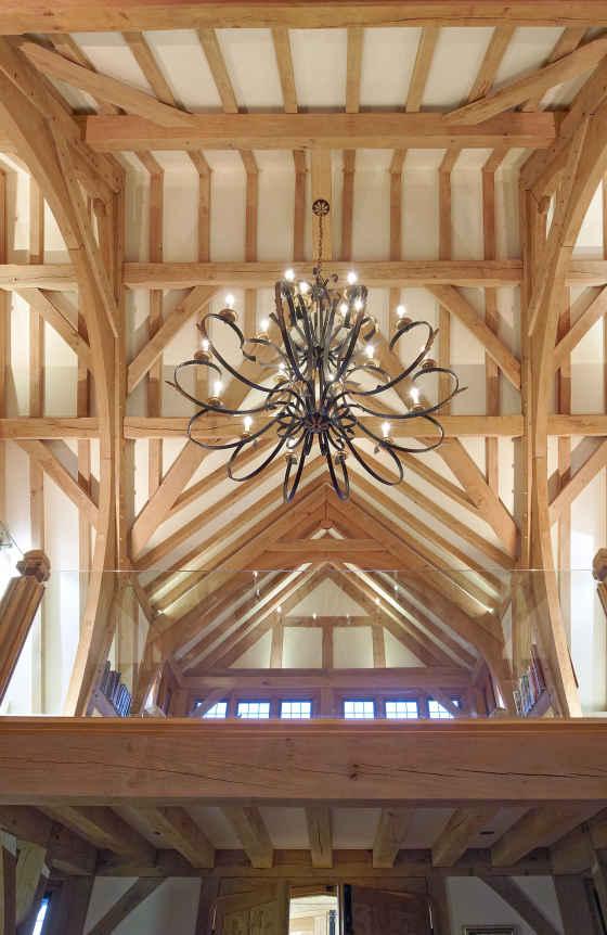 Otford Atrium - Oak Frame - Ceiling