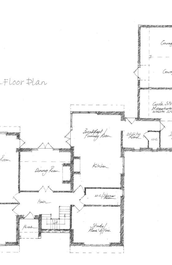 Mannering House drawings